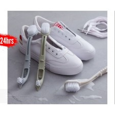Cleaning Brush 2 in 1 Double-Headed Multi-Function Wash Sole One Shoe Brush Cleaning