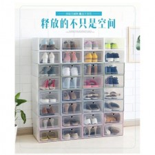 Thickened Plastic Shoes Box Simple Translucent Storage Shoebox