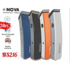 Nova NS216 Wireless Trimmer Shaver Clipper Rechargeable Hair Trimming