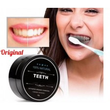 Teeth Whitening Powder Natural Safe Organic Charcoal Bamboo Amour