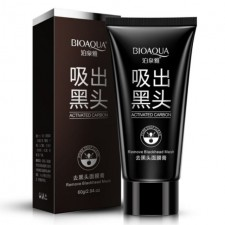 Bioaqua 60g Activated Carbon Blackhead Acne Remove Removal Mask Super Strong Absorbtion