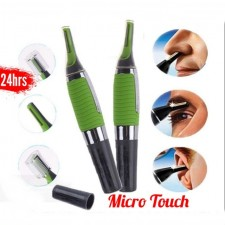 Micro Touch Shaver Soft Max Personal Ear Nose Neck Eyebrow Hair Trimmer Groomer Remover Portable