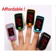 Fingertip Oximeter Blood Oxygen Level Meter Led Display Health Heart Rate Monitor Measure Tools