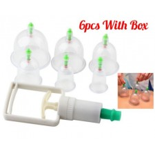 6 Cups Vacuum Bekam Cups 6 Cups Vacuum Cupping Set Therapy