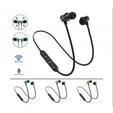 Bluetooth Earphone Magnetic Wireless Sports Headset Bass Music With Mic
