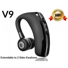V9 Bluetooth Wireless Earphone [CSR Version] Business Ear Hanging Stereo Voice Command
