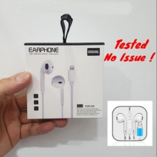 HIFI Lightning Earphone Line Control Headset For IPhone X/8/7/7 Plus