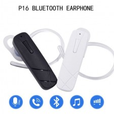 P16 Bluetooth Earphone Headset Driving Wireless Handsfree Hands Free Microphone Headphone Universal Mini Business