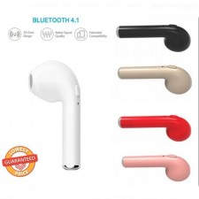 i7 Bass Mini Wireless Bluetooth Sports Earphone iPhone Only for Left Ear