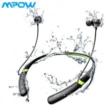 Mpow A5 ANC Active Noise Cancelling Bluetooth Headset Headphones Waterproof Sports Neckband BT