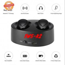 Mini TWS-K2 Stereo Twins Wireless Bluetooth 4.1 Earphone With Charging Box