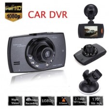 Full HD 1080p Dash Cam Driving DVR Night Vision Motion Detection