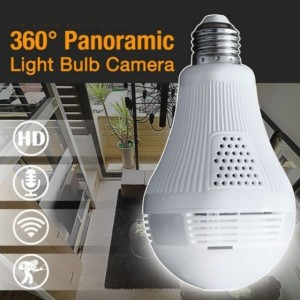 960P Bulb Light IP Camera 360degree Wireless Wifi Camera 1.3MP Home Security Cam