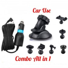 Car Use 6 in 1 Suction Bracket Combo Mini USB Cigarette Port Adapter High Voltage Quality