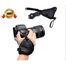 SLR/DSLR Camera Grip Hand Strap PU Leather Soft Wrist Strap Grip for Nikon Canon Sony