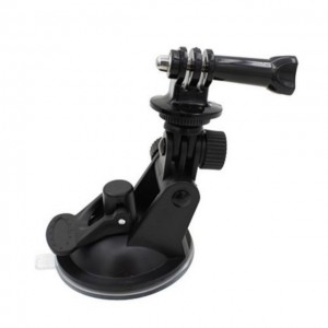 Suction Cup Car Window Windshield Glass Mount GoPro 4 3 2 1 Action Camera