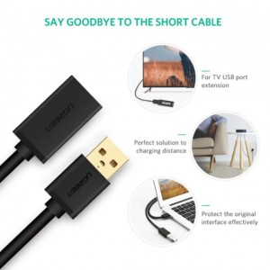 UGREEN Original Super Speed Max USB 3.0 Extension Cable