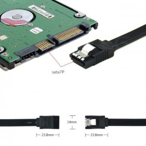 1 PCS 3.0 Sata Cable Speed Up to Max 6Gbps 3.5 Hard Disk / 2.5 SSD HDD Hard Disk (FR-2)