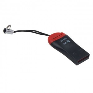 USB 2.0 Memory Card Reader Adapter For Micro SDHC TF High Speed