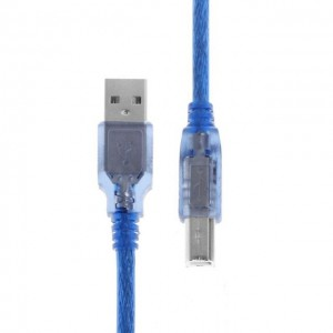 Printer Cable 0.3M/1.5M/3M/5M/10M High Speed USB 2.0 Blue Coded Canon Epson HP