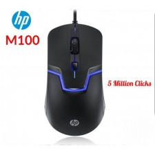 HP Gaming Mouse M100 Optical 1600 DPI USB Mice Laptop PC General Backlight