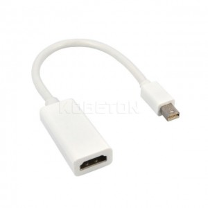 Thunderbolt Mini Display Port DP Male To HDMI Female Adapter Converter Cable