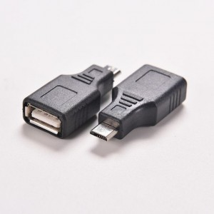 1 PCS Adapter Converter Network USB 2.0 A Female to Micro USB B 5 Pin Male Cord Cable Hub