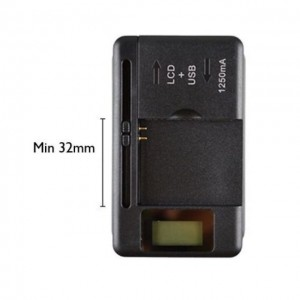 Universal LED Display Mobile Cell Phone Battery Charger USB Fast Charge Port