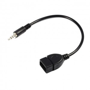 3.5mm Converter Adapter Cable Male Audio AUX To USB 2.0 OTG