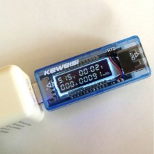 USB Volt Tester Check Current Voltage Doctor Charger Capacity Tester Meter Power Bank
