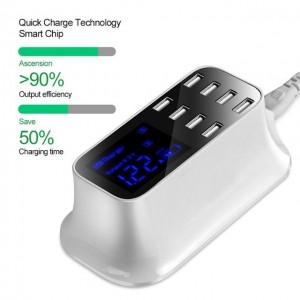 Fast Charging Multiple USB Charger Smart USB Hub With 4/ 8 Ports