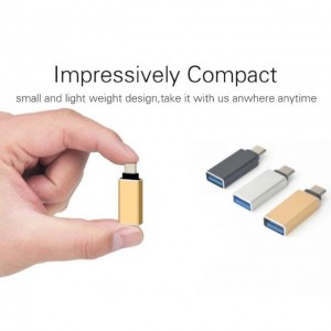 USB 3.0 Female To USB 3.1 Type C Male Converter USB-C OTG Data Sync Adapter Sale