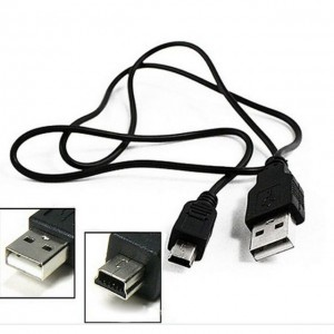 Mini USB Cable High Speed USB 2.0 A Male To Mini 5 Pin B Charger Cable