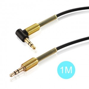 1M Car Aux Audio Cable 3.5mm Jack Male To Male HIFI Universal Stereo Audio Cable