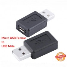 1 PCS Convertor Female Micro Usb to USB Male Data Changer Plug USB Adapter