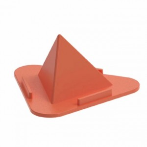 Pyramid Cellphone Bracket 3 Angle Universal Bottom Non-slip Desktop Phone Stand