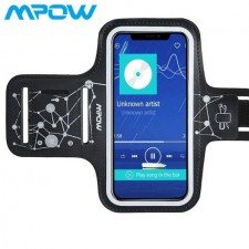 Mpow Running Armband with Card Pockets Key Slot for iPhone X/8/7 6 6s Galaxy