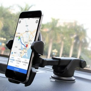 360º Car Windshield Dashboard Suction Cup Mount Holder Cradle In