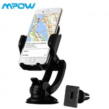 Mpow Universal Car Air Vent Phone Mount Adjustable Windshield Holder