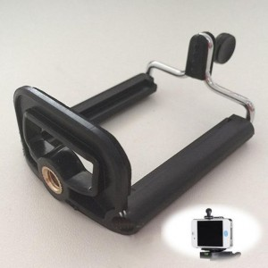 Phone Clip Holder Tripod Digital Camera / iPhone Mobile Bracket Stand Portable Universal