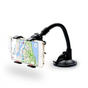 Flexible Long Arm Car Phone 360 Degree Rotation Suction Cup Phone Holder