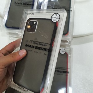 Mocome Max Series iPhone 11 Pro Max Premium Bumper Edge Best Casing Protective Matte Smooth Touch