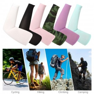 Riding Arm Protection Bike Sleeves Arm Warmer UV Cuff Removal Golf Ball Breathable