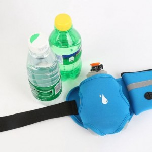 Jogging Running Outdoor Sport Bag Water Bottle Holder Waist Belt Bottle Phone Keys Waist Pack