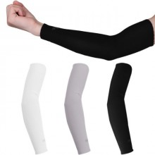 1 Pair 2 PCS Arm Sleeves UV Protection Cooler for Running Bike Hiking Golf Tennis Foot