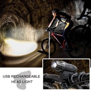 Waterproof Bright Bike Bicycle Cycle Front And Rear Back Tail Light Lights