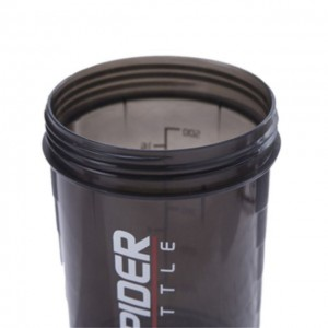 Spider Bottle Gym protein shaker 3 in 1 Sports Water Bottle With Inserted Mixing Ball