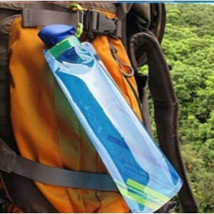 700ml Bottle Foldable Reusable Portable Water Bottle Bicycle Hiking Camping Picnic Water Bottle