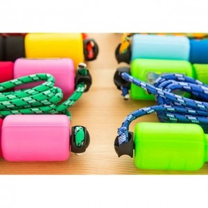 Fitness Counter Skipping Rope Rubber Wire Speed Jump Tali Lompat Count Adjustable Crossfit
