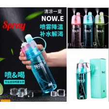 New B 400ML & 600ML Sports Spray Bottle Water Cooling Professional Bottle